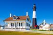 canvas print picture - Tybee Island Lighthouse on Tybee Island, Georgia, USA