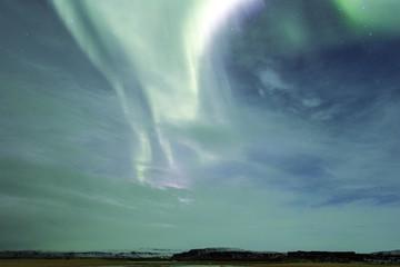 Islanda, la meravigliosa aurora boreale.