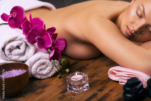 Obraz na Szkle relaxing spa treatments