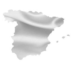 スペイン 地図 シルク