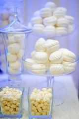 Stylish sweet table for event party