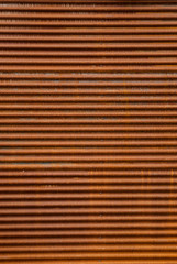 Rusted Corrugated Steel Background