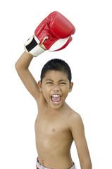 child fighter