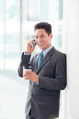 Modern Vietnamese businessman