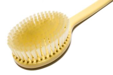 Long handled back scrubber