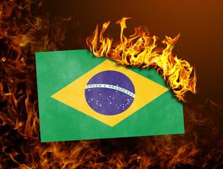 Flag burning - Brazil