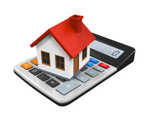 Calculator and House Icon