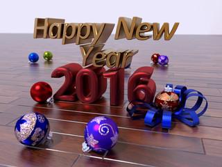 Feliz Año 2016 parquet