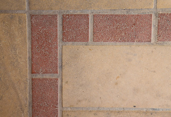 New brick wall with pattern. Background