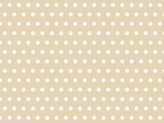repeat pink polka dots pattern background vector