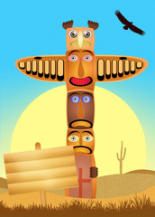 Traditional totem