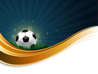 blank soccer wave