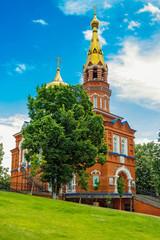 church of our lady of kazan in izhevsk