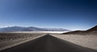 Asphalt Road in the Death Valley National Park, California - 80125255
