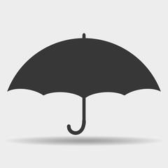 Vector sign. Umbrella.