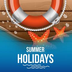 summer holidays (flyer, poster, banner)