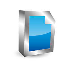 Document Icon 3D