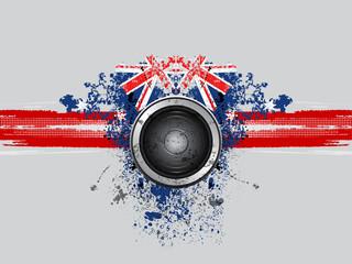 grunge music speaker