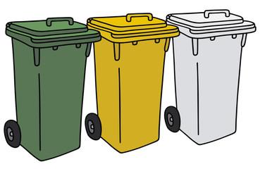 Recycling ddustbins