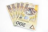 1000 polish money 200 pln
