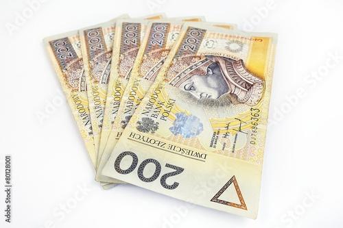 1000 polish money 200 pln - 80128001