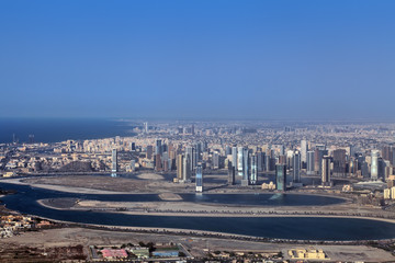 Sharjah cityscape, United Arab Emirates