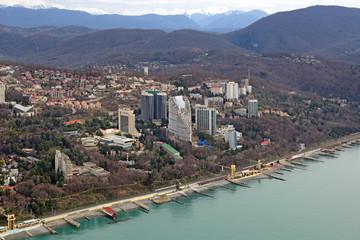 Sochi cityscape, Russia