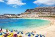 Playa de Amadores beach. Gran Canaria, Canary Islands. Spain