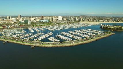 Long Beach Aerial Marina