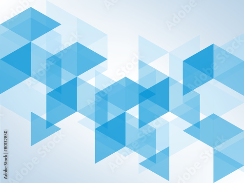 Fototapeta blue abstract background with space