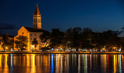 Trogir at the evening