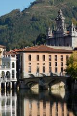 Río Oria a su paso por Tolosa