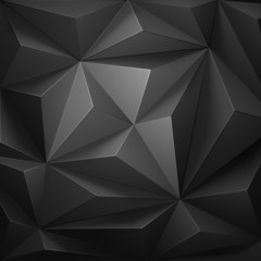 Low poly background. Vector