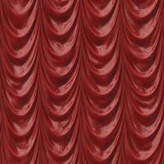 Roter Vorhang nahtlos