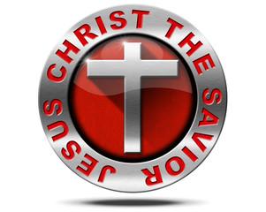 Jesus Christ the Savior - Metal Symbol