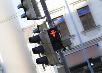 Stop rote Ampel