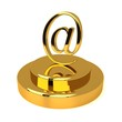 E-mail symbol in the form of trophy
