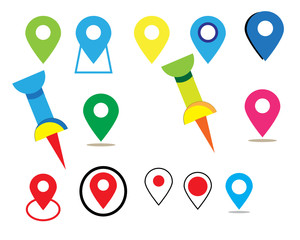 Map icon and Location Icons