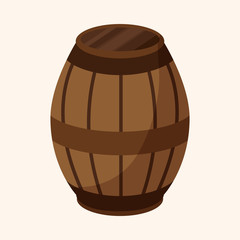 pirate casks theme elements