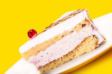 fresh of vanilla cake
