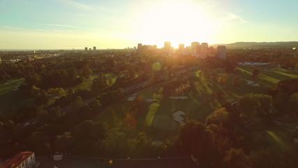 Los Angeles Aerial Century City