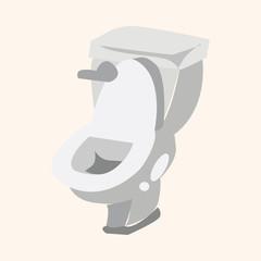 Toilet theme elements