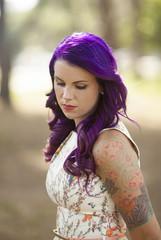 beautiful tattooed woman