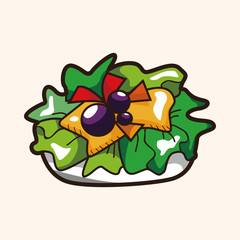 salad theme elements