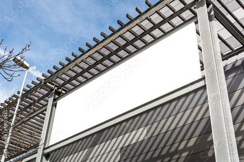Schild Werbung Gebäude - 80153435