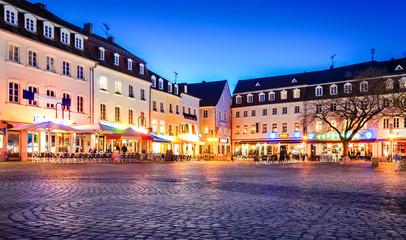 Saarbrücken Nachtleben – St. Johanner Markt am Abend
