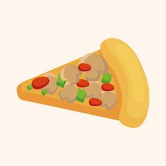 pizza theme elements