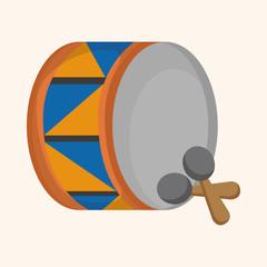 circus drum theme elements