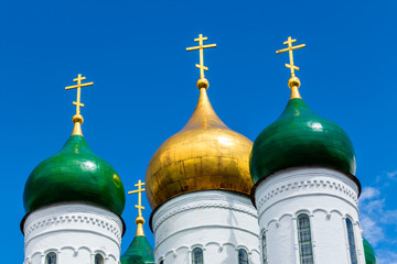 Domes of the Kolomna Cathedral
