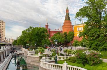 Tzereteli's fountain complex near Kremlin